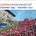 De jubileum-nieuwsbrief is uit!